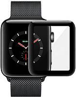 Защитное стекло Mocolo 3D Full Cover Tempered Glass Apple Watch iWatch 40mm Black, фото 1