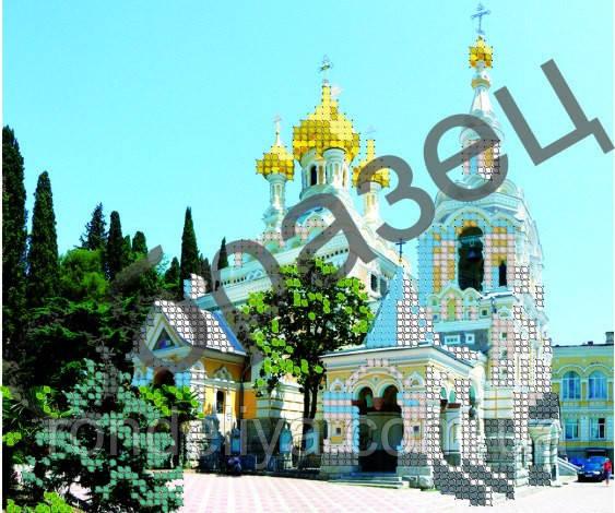 Схема для вишивки бісером «Олександро-Невський собор»