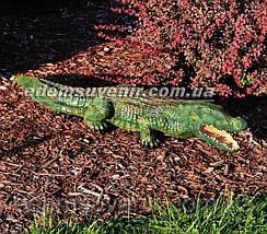 Садовая фигура Крокодил, фото 2