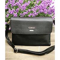 Женская сумочка Guess (Гесс), черный цвет, фото 1