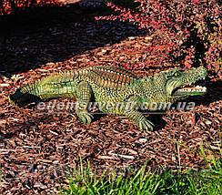 Садовая фигура Аллигатор, фото 2