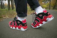 Мужские кроссовки Nike Air Uptempo Red ( Реплика ), фото 2
