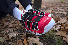 Мужские кроссовки Nike Air Uptempo Red ( Реплика ), фото 3