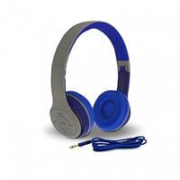 Наушники с микрофоном Havit HV-H2575BT серо-голубые, фото 1