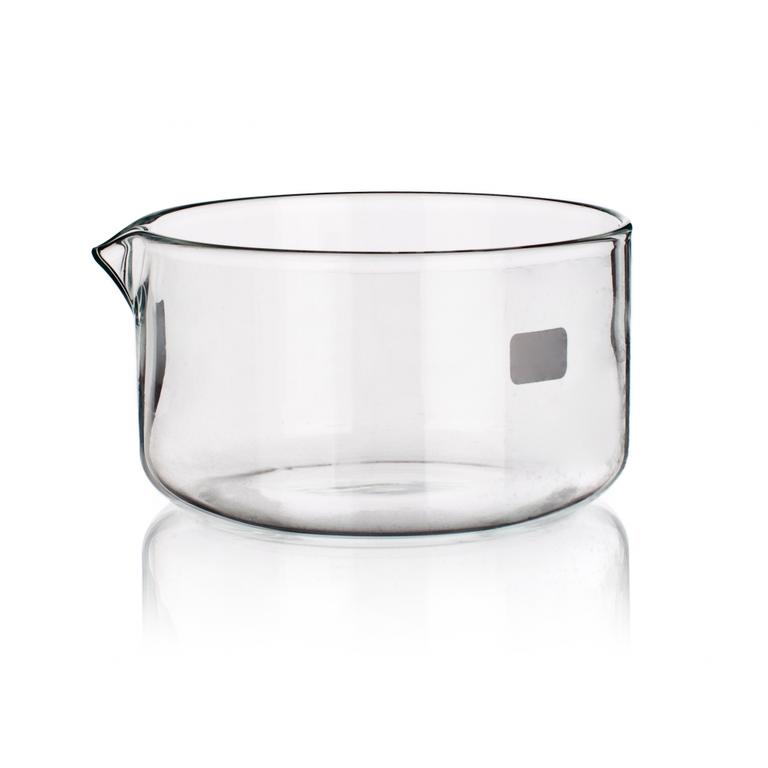 Чаша кристаллизационная с носиком 60 мм, стекло