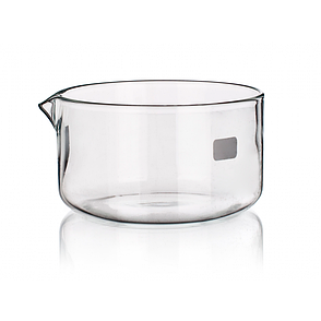 Чаша кристаллизационная с носиком 60 мм, стекло, фото 2
