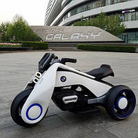Детский электрический Мотоцикл BMW_Hurricane, 3-х колесный, дитячий електромобіль