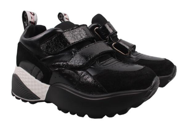 Туфли спорт Li Fexpert эко кожа, цвет черный