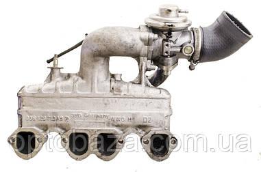 Коллектор впускной, Клапан EGR, патрубок EGR, 038 129 713 AB; 038129637  для Volkswagen passat B5 (1997-2005)