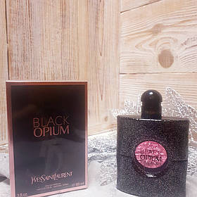 Yves Saint Laurent Black Opium 90ml | Женские духи Ив Сен Лоран Блек Опиум реплика