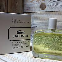 Духи Lacoste Essential TESTER 125ml | Мужские духи Лакост Есеншел