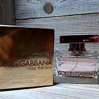 Парфюмированная вода Dolce & Gabbana Rose The One 75ml | Женские духи Дольче Габбана Роуз реплика