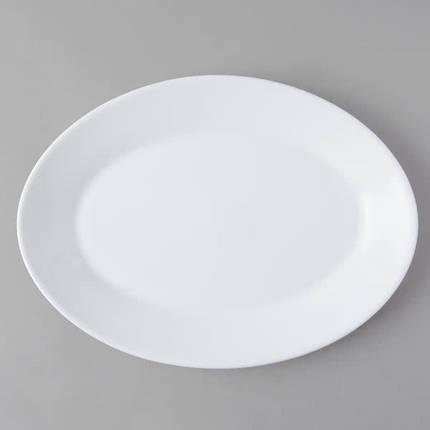 Блюдо овальное белое ARCOROC RESTAURANT 25251, фото 2