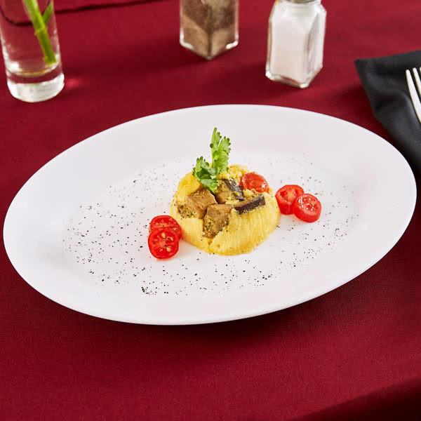 Блюдо овальное белое ARCOROC RESTAURANT 25251