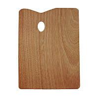 Палитра деревянная прямоугольная, 30х40см., (товщина 5мм.), D.K.ART & CRAFT
