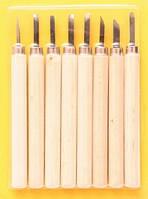 Набор резцов по дереву  8шт., в блистере, (11513), D.K.ART & CRAFT