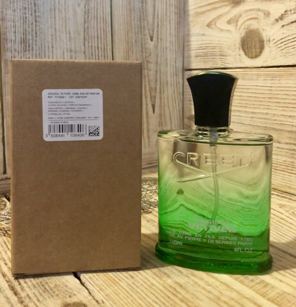 духи тестер Creed Original Vetiver Eau De Parfum 120ml от интернет