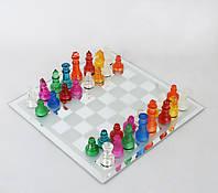 Шахматы стеклянные 25 см