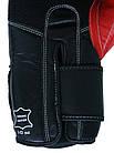 Боксерские перчатки V`Noks Potente Red 16 ун., фото 6