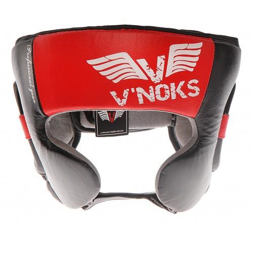 Боксерский шлем V`Noks Potente Red S
