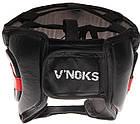 Боксерский шлем V`Noks Potente Red S, фото 2