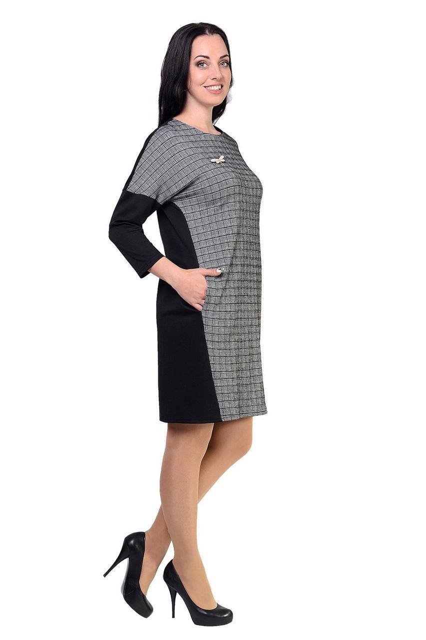 95a238aa5c4 Молодежное платье из комбинированного трикотажа  продажа
