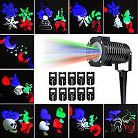 Лазерный новогодний проектор DIY Projection Lamp
