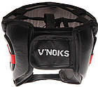 Боксерский шлем V`Noks Potente Red XL, фото 2