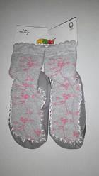 Носки-тапочки  махровые  для девочки  26\27 (17,5 см)