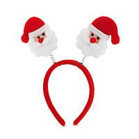Новогодний обруч Дед мороз