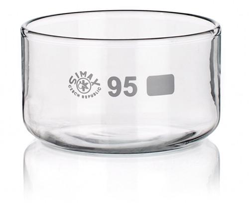Чаша кристаллизационная без носика 180 мм, стекло