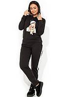 Спортивный костюм с нашивкой на кофте размеры от XL 2222