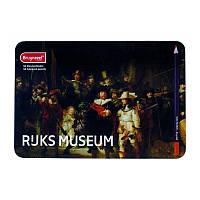 Набор цветных карандашей Dutch Masters, Ночной дозор, Рембрандт, 50шт., метал, Bruynzeel