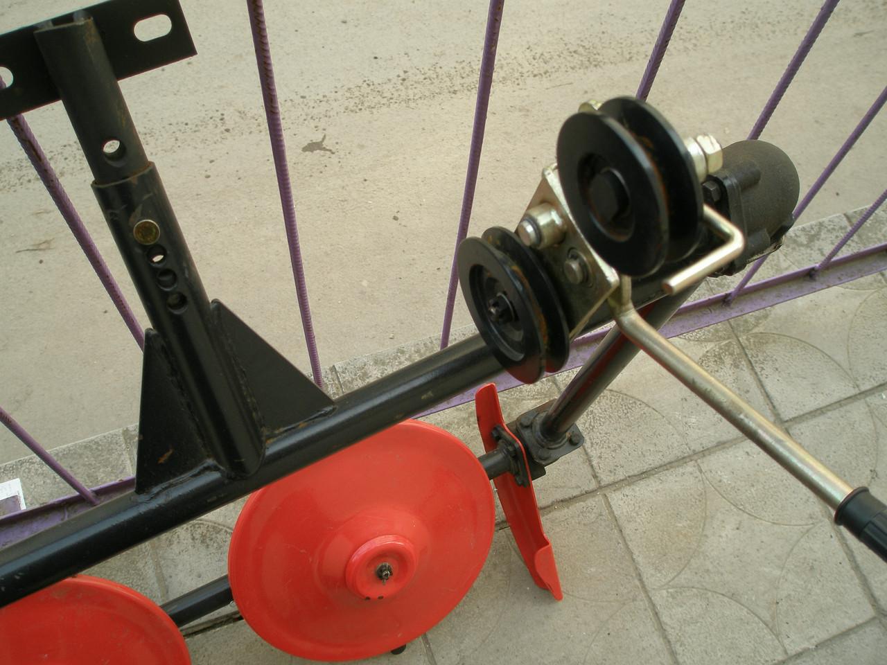 мотоблок дизельный роторным косилкой