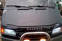 Дефлектор +на капот   FORD Transit c 1991-1999 г.в. (Форд Транзит) Vip Tuning