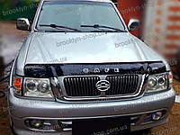 Дефлектор капота Great Wall Safe (CC6460DY) с 2002–2010 г.в. (Грейт вол сейф) Vip Tuning