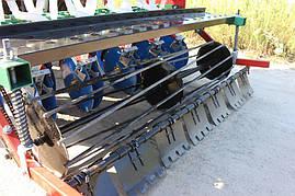 Сівалка сеялка до мінітрактора 1,2 м дисковий сошник, фото 3