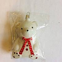 Игрушка новогодняя медвеженок, фото 1