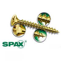 Саморез SPAX 8 х 200 потай неполная желтый