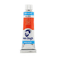 Краска акварельная Van Gogh (311), Киноварь, туба 10 мл, Royal Talens