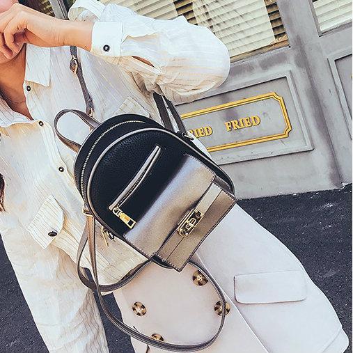 мини рюкзак черный