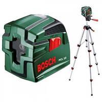Линейный лазерный нивелир Bosch PCL 10 SET (0603008121)