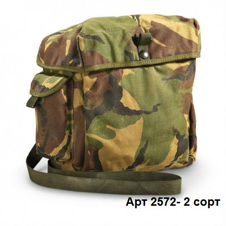 Тактическая сумка для противогаза DPM армии Великобритании. Оригинал. Б\У 2 сорт