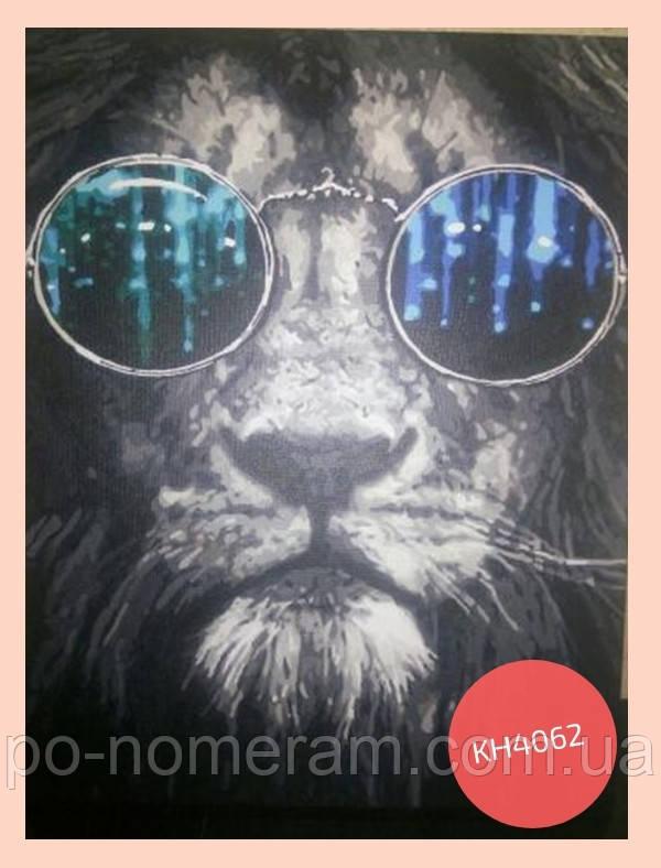 фото нарисованной картины идейка космический лев