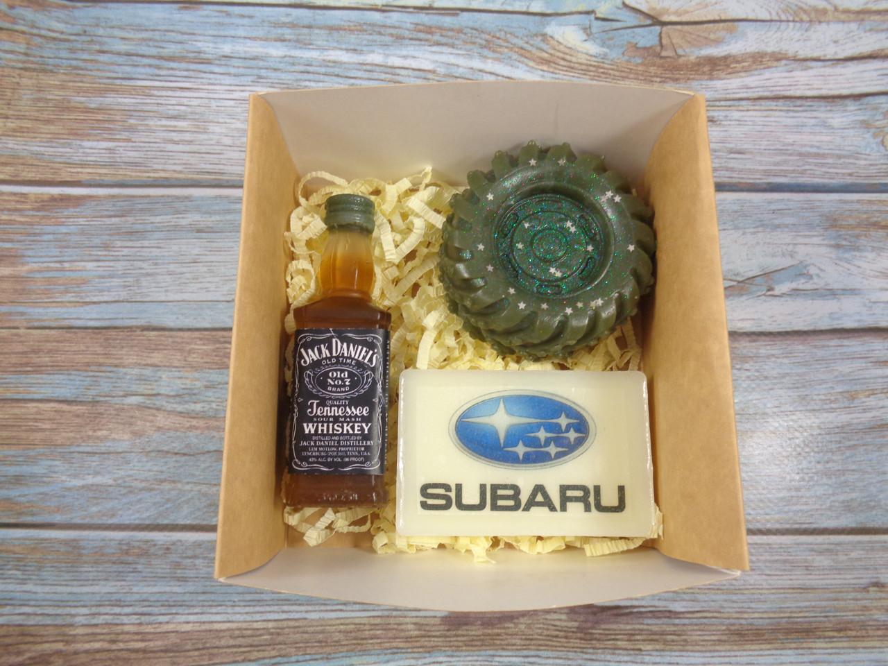 """Подарочный набор мыла """"Subaru"""" №2"""