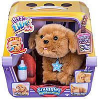 Интерактивная игрушка Ласковый щенок мечты  Литл Лайв Петс Little Live Pets Snuggles My Dream Puppy