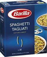 Макароны твердых сортов Barilla «Spaghetti Tagliati» n.38, (итальянские макароны барилла) 500 гр.