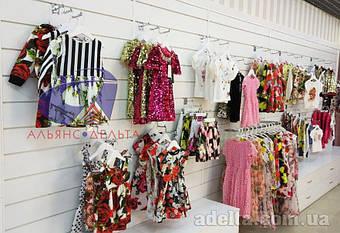 Экспопанель для магазинов детской одежды