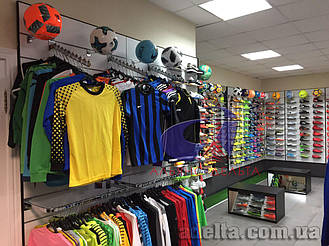 Экономпанели для магазинов спорттоваров