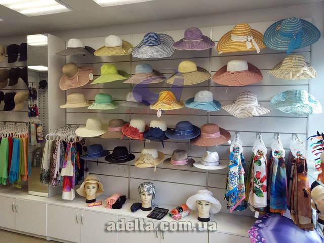 Экспопанель для магазинов шляп